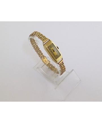 CYMA - złoty zegarek Art Deco
