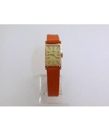 Złoty kultowy zegarek Łucz
