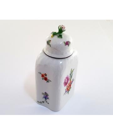 Porcelanowy pojemnik na herbatę - KPM Berlin z lat 1780 / 1800
