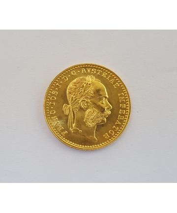Złota moneta 1 dukat 1915