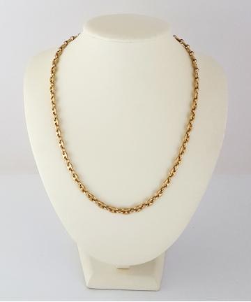 Złoty łańcuszek próby 585 - długość 50,5 cm