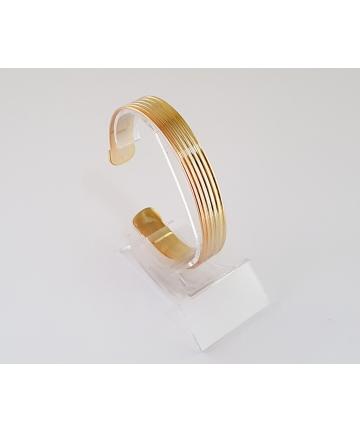 Złota sygnowana bransoleta...