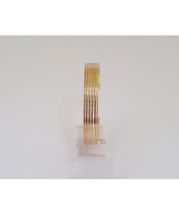 Złota sygnowana bransoleta próby 585