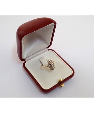 Złoty Wiedeński pierścionek...
