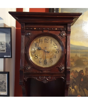 Zegar stojący GUSTAV BECKER z około 1900 roku