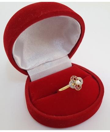 Pierścionek Art Deco złoto...
