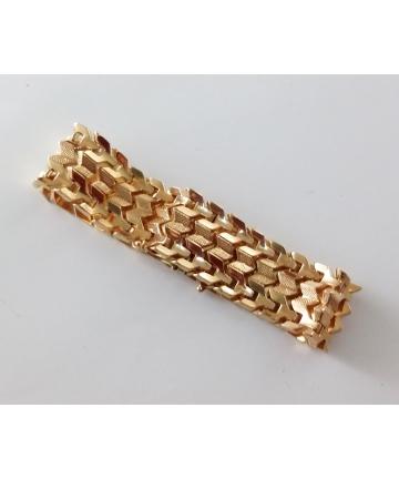 Złota bransoleta próby 750