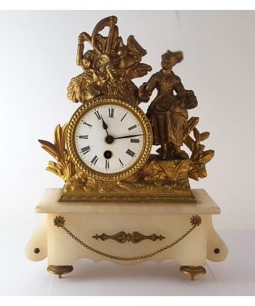 Zegar kominkowy z XIX...