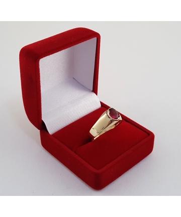 Złoty pierścionek - sygnet...