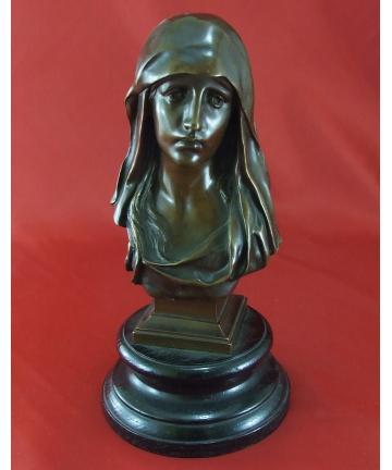 Rzeźba - popiersie Madonny,...
