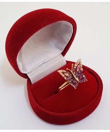 Złoty pierścionek według...