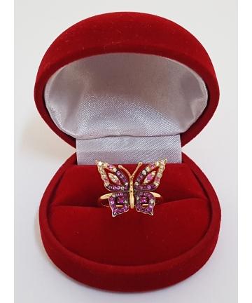 Złoty pierścionek według projektu Boucheron