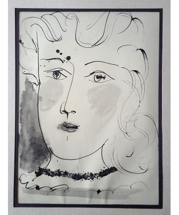 Litografia - Pablo Picasso około 1957 rok
