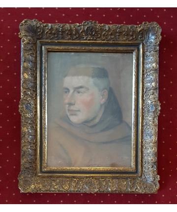 Portret mnicha z XIX wieku...