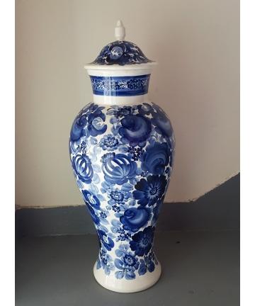 Porcelanowa amfora,...