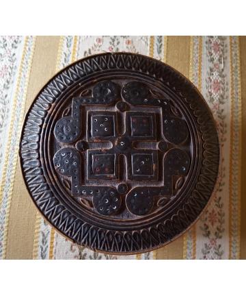 Huculski pojemnik na biżuterię z I połowy XX wieku