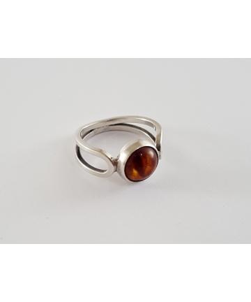 Srebrny pierścionek ORNO...