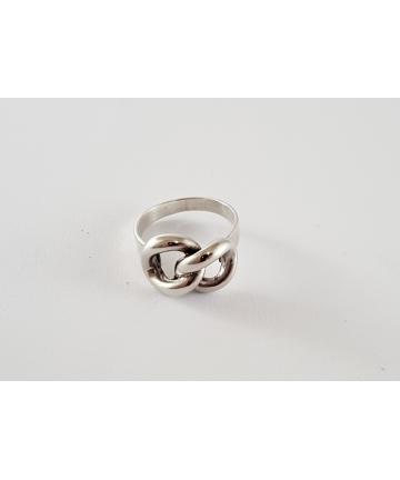 Srebrny pierścionek,...