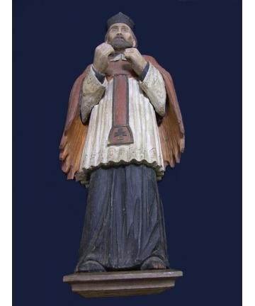 Rzeźba św. Nepomucena z ok....