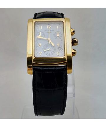 Złoty zegarek szwajcarskiej marki Longines DOLCE VITA