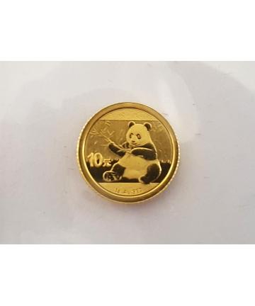 Złota moneta 10 Yuan -...