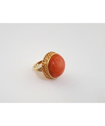 Złoty pierścień z...
