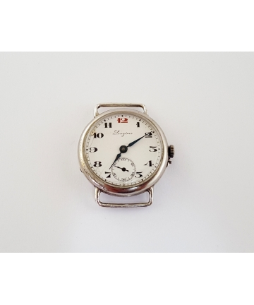 Srebrny zegarek marki...