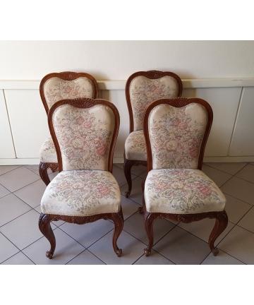 Cztery krzesła w stylu...