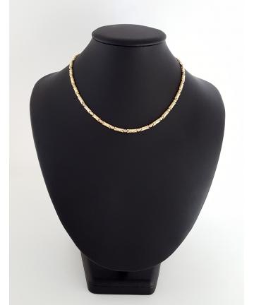 Złoty łańcuch - naszyjnik -...