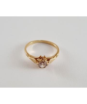 Złoty pierścionek Filia...