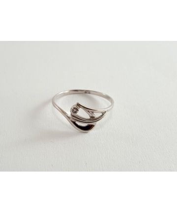 Złoty pierścionek próby 585...