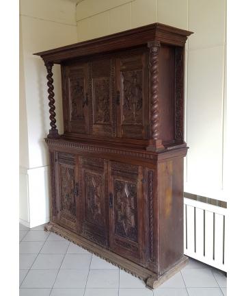 Mebel datowany - 1697 rok - ŚLĄSK