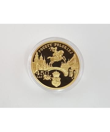 Polska złota moneta kolekcjonerska - CERTYFIKAT NBP- 15,5 gr próba 900