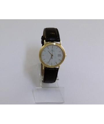 Złoty zegarek szwajcarskiej marki SG Saint Georges - Longines
