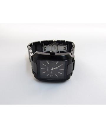 RODANIA - zegarek szwajcarski, automat, stal szlachetna i ceramika