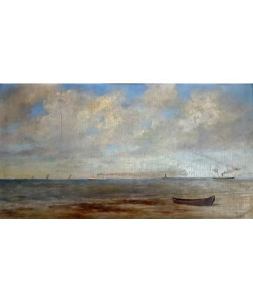 Sygnowany obraz olejny z 1930 roku