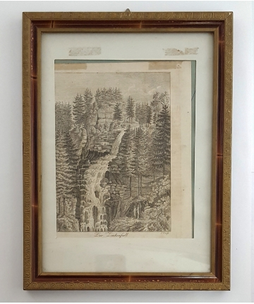 Drzeworyt z 1822 roku -...