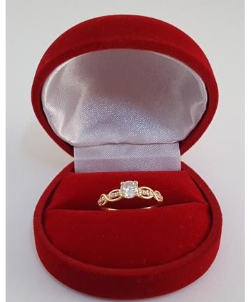 Złoty rosyjski pierścionek...